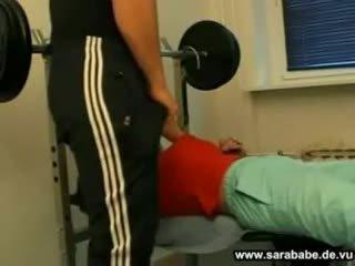 Allemand gym sexe