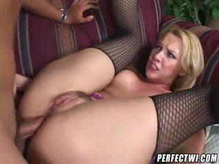 blondýnky, assfucking, anální sex