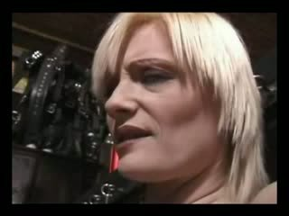 Mistress torture Lesbo slaves Melons with her heels