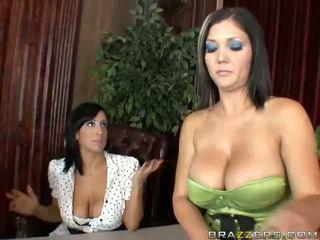 Claire dames dhe ricki wihte anale treshe video