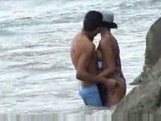 業餘愛好者, 偷窺, 海灘