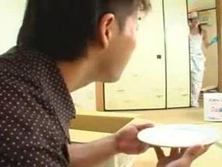 brünette, japanisch, teenageralter