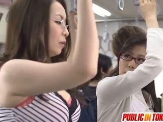 japonski, public sex, group sex