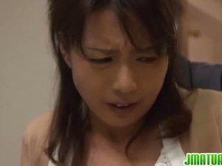 Foxy Japanese Mature Chick Eriko Miura...
