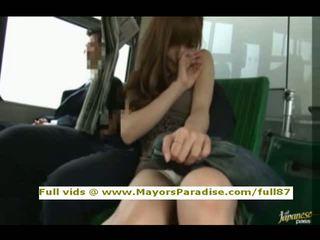 Rio od idol69 asijské dívka je fucked na the autobus