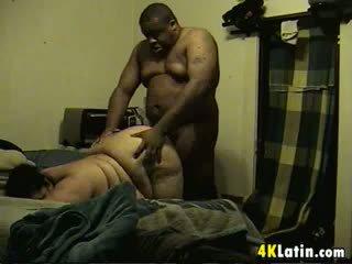 Big Latin Woman Fucked By Her Big Man