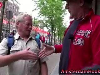 Amatér holandský děvka gets a připojenými opčními výstřel