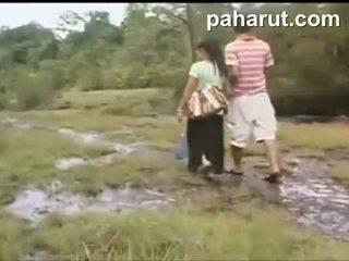 Nxehtë tajlandeze seks në publike