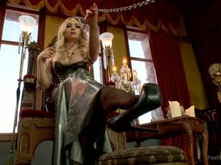 Bonus לעדכן webbed toed נכנעת הזונה worships aiden starr s רגליים