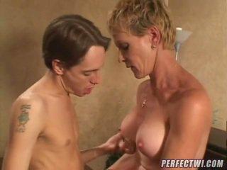 milf sex, mogen, aged lady