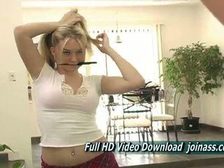 Libre babe bago, masturbation sariwa, puno blonde ikaw
