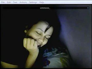 webcam, masturbarsi, micio