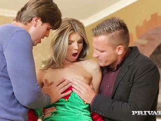 Skinny Teen Gina Gerson Gets DP For Ch...