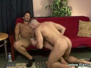 Rovný a gejské guys doing a sixtynine