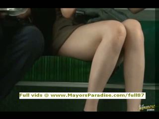 Rio innocent κινέζικο κορίτσι είναι πατήσαμε επί ο λεωφορείο
