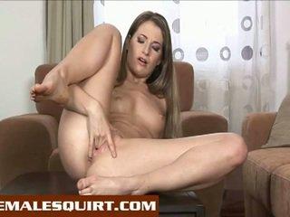 bruneta, pěkný zadek, hračky
