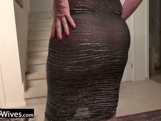 Usawives eldre dame jade solo masturbation: gratis porno f9
