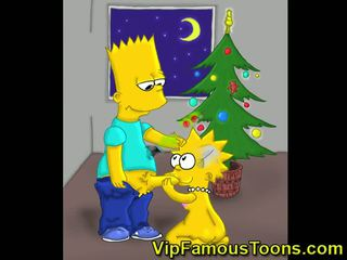 Slavni toons božič orgija