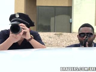 Brazzers - Cop fucks Bridgette B hard