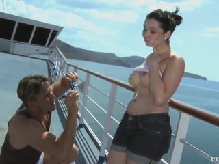 Angell Summers - BJ, Anal and Cumshot after Photshoot on a Cruiser (HD)
