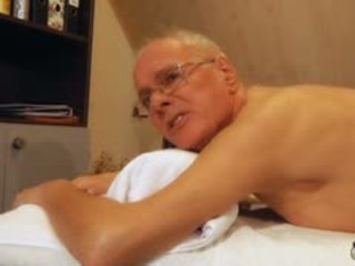 70 Aged Senior Fucks Sweet Teenager Massage Girl