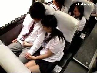 rukken, schoolmeisje, publiek
