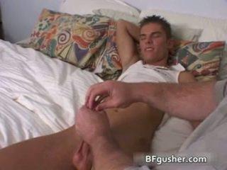 Brandon acquires негов секси гей пенис jerked