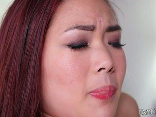 Ogolone azjatyckie nastolatka lea hart gorące pieprzyć