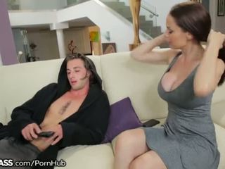 deepthroat, big boobs, cougar