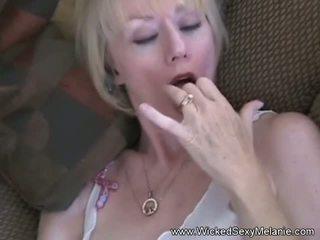 Momis a Real Cum Junkie, Free Wicked Sexy Melanie Porn Video