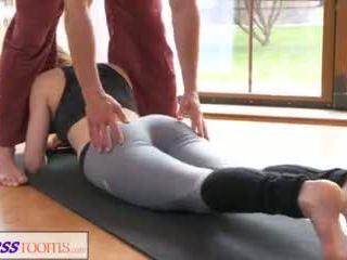 fitness, romantisk, yoga pants