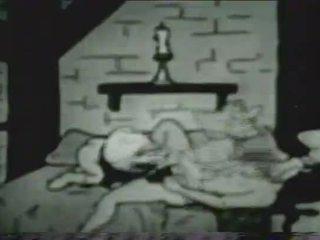 Ročník xxx karikatura verze na snow bílý a the seven dwarves