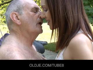 ông nội, âm hộ liếm, oldman