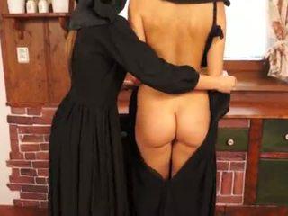 Njijiki catholic nuns making sins and licking burungpun