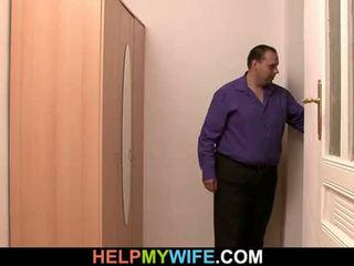 Delivery gutt er paid til pund unge kone