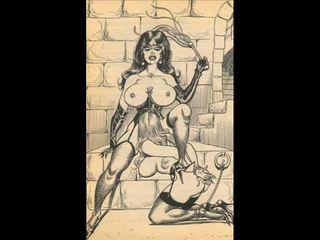 cartoons, bdsm art