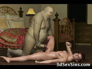 থ্রিডি demons যৌনসঙ্গম গরম নিষ্পাপ!