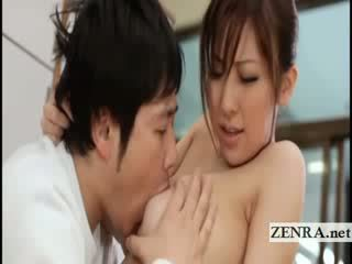 To titty nhật bản sultress harumi asano has dưa suckled
