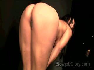 Adriana confesses door zuigen priests reusachtig dong thru gloryhole