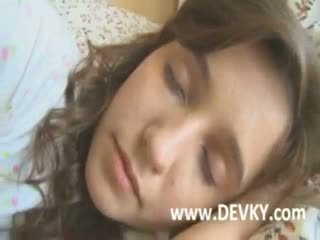 Durmiendo beauty rusa chica banged duro