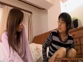 Japonské vyzreté žena has rozkošné