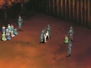 Unmerciful manga warriors double puuritud gal