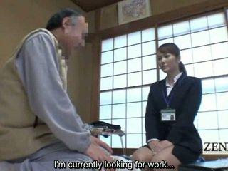 Subtitled Japanese Medicine Saleswoman Cfnm Examination