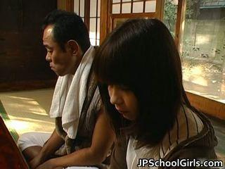 Haru sakuragi aziatisch schoolmeisje has seks