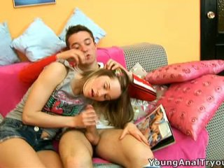 Doggy Position Anal Ramming For Teen Irina.