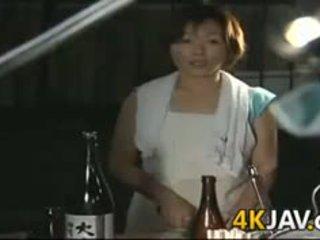 zeshkane, japonisht, blowjob, i pjekur