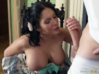 brunettes, big tits, pornstar