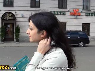 outdoor sex, blowjob, money, anal