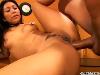 Horny honey Finesse Navarro gets the perfect reward she wanted after fucking