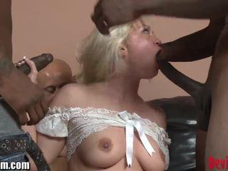 Devilsfilm blondinke medrasno skupinsko posilstvo